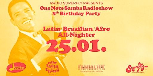 One Note Samba Radioshow 8th Birthday Party