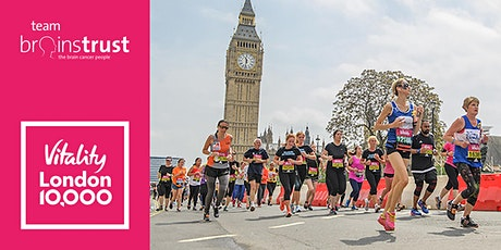 Vitality London 10,000 - free charity place tickets