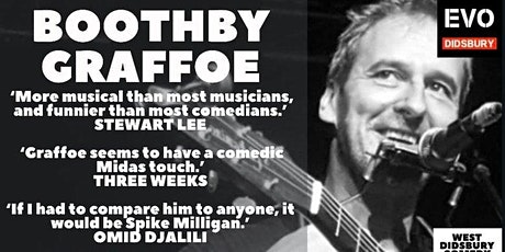 Boothby Graffoe: West Didsbury Comedy Festival tickets