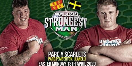 UKSA Wales's Strongest Man 2020 tickets