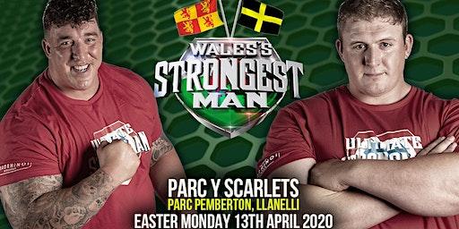 UKSA Wales's Strongest Man 2020
