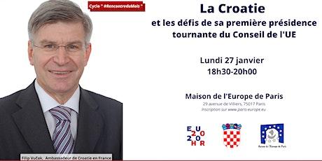 La Croatie et les défis de sa première présidence du Conseil de l'UE billets