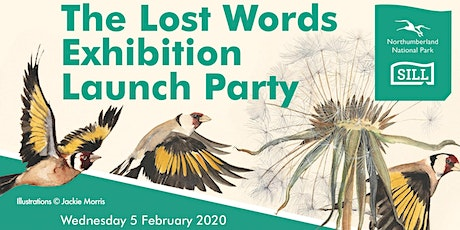 The Lost Words Exhibition Launch Party tickets