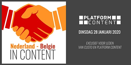 Kick-Off 2020: Nederland - België, de contentmarketing meetup der Lage Landen tickets