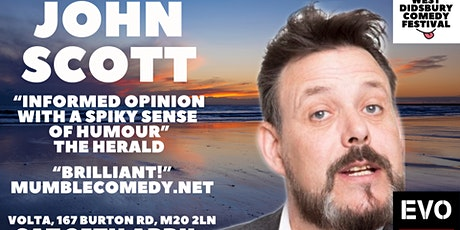 John Scott: Delusions - West Didsbury Comedy Festival tickets