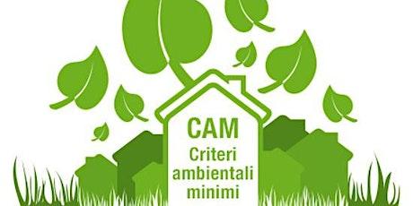 Corso CAM  1-3-4 temi impianti tickets