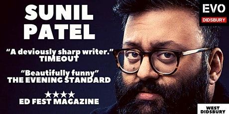 Sunil Patel: West Didsbury Comedy Festival tickets