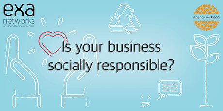Be a Socially Responsible Business tickets
