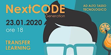 NextCODE Generation biglietti
