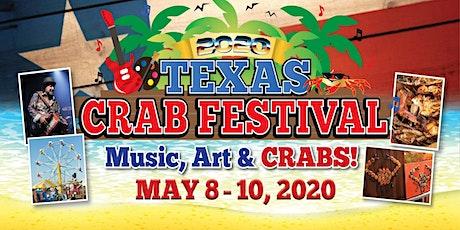 2020 Texas Crab Festival in Crystal Beach tickets