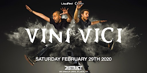 VINI VICI - Saturday February 29nd 2020 - District