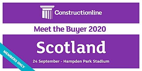 Scotland Constructionline Meet the Buyer 2020 tickets