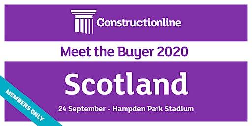 Scotland Constructionline Meet the Buyer 2020