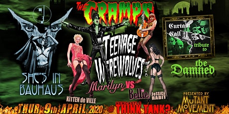 Teenage Werewolves(The Cramps tribute)She'sInBauhaus/Curtain Call NEWCASTLE tickets