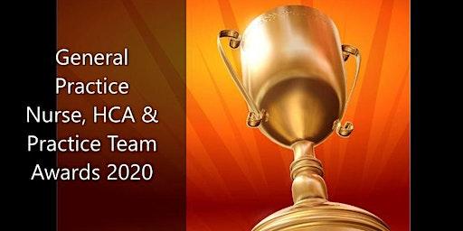 General Practice Nurse, HCA & Practice Team PLI & Awards 2020