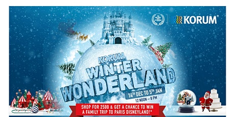 Snowy Korum Winter Wonderland tickets