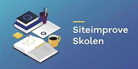 Online: Siteimprove-skolen | Grunnkurset tickets