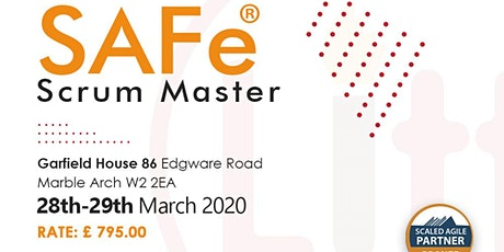 SAFe® Scrum Master tickets