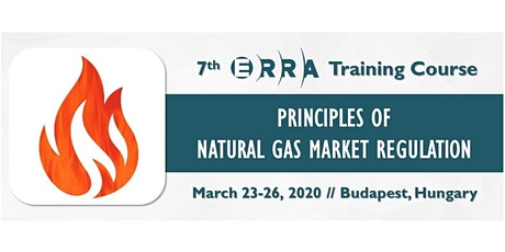 ERRA Training Course on Principles of Natural Gas Market Regulation tickets