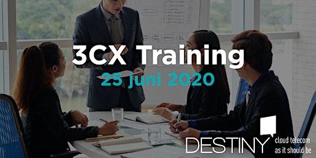 3CX Beginner Training 25 juni 2020 tickets