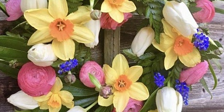EASTER FLOWERS FOR THE HOME WORKSHOP THURSDAY 9TH APRIL 6.30-9.00PM tickets