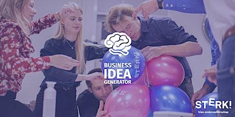Business Idea Generator #4 tickets