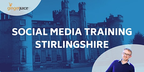 Social Media for Travel & Tourism (Stirlingshire) tickets