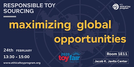 Responsible Toy Sourcing Seminar: maximizing global opportunities tickets