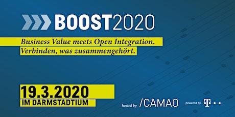 BOOST2020: Das Event für Business-Entscheider/Prozess-Optimierer/Entwickler Tickets