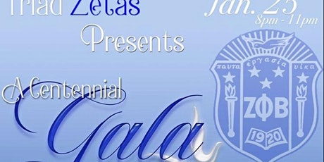 Zeta Phi Beta Sorority, Inc. Triad Zetas Centennial Gala tickets