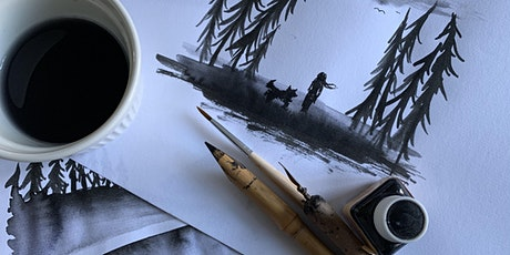 Illustration course: learn how to illustrate with ink tickets