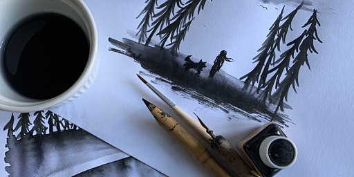 Illustration course: learn how to illustrate with ink