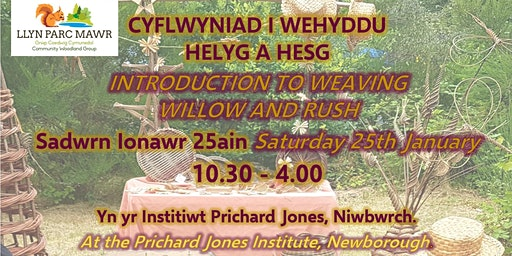 Introduction to Weaving Willow and Rush / Cyflwniad I Wehyddu Helyg A Hesg