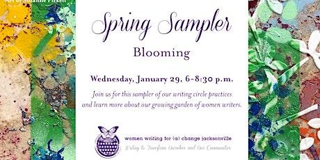 Spring Sampler: Blooming (Riverside) tickets