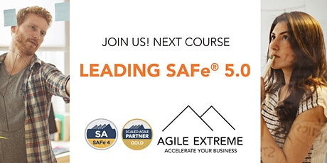 Leading SAFe® 5.0 tickets