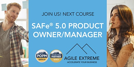 SAFe® 5.0 Product Owner/Manager tickets