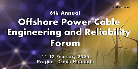 Offshore Power Cable Engineering and Reliability Forum, 6th Annual tickets
