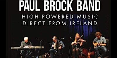 Fundraiser-Traditional Irish Dinner & Concert w/ Paul Brock Band