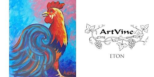 ArtVine, Sip & Paint in Eton, 30th January 2020