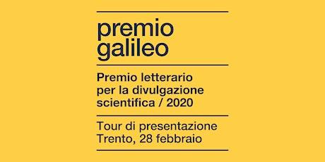 Premio Galileo 2020: incontro con gli autori finalisti  biglietti