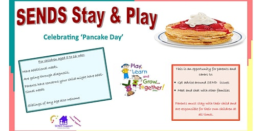 SENDS Stay and Play - Half Term Fun