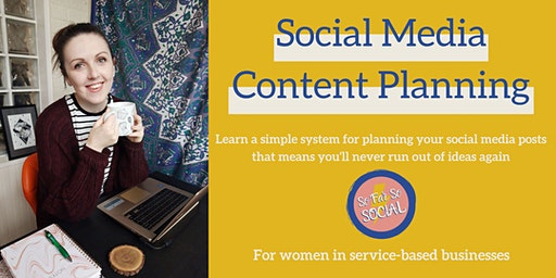 Social Media Content Planning for Female Entrepreneurs