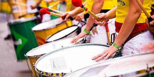 Samba Drumming with Jeremy Hickey