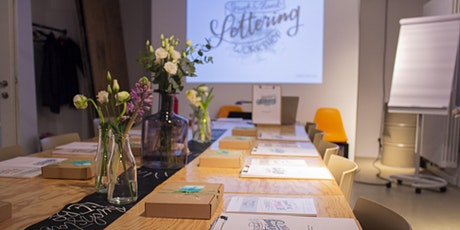 Brushlettering Workshop für Fortgeschrittene / Aufbaukurs Tickets