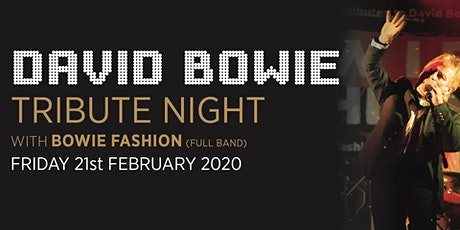 David Bowie - Tribute Night tickets
