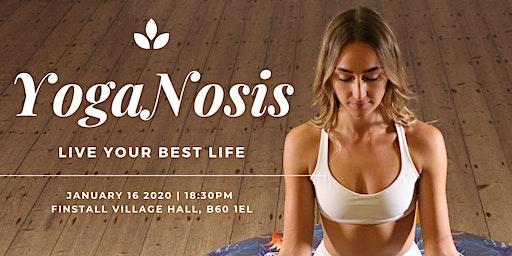 YogaNosis - Yoga + Hypnosis!