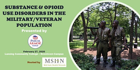 Substance & Opioid Use Disorders in the Military tickets