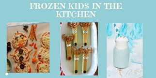 Frozen Kids in the Kitchen