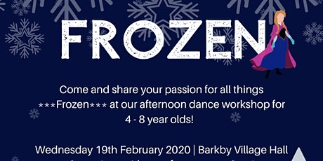 Frozen Dance Workshop tickets