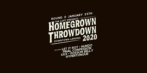 Homegrown Throwdown 2020 - ROUND #3